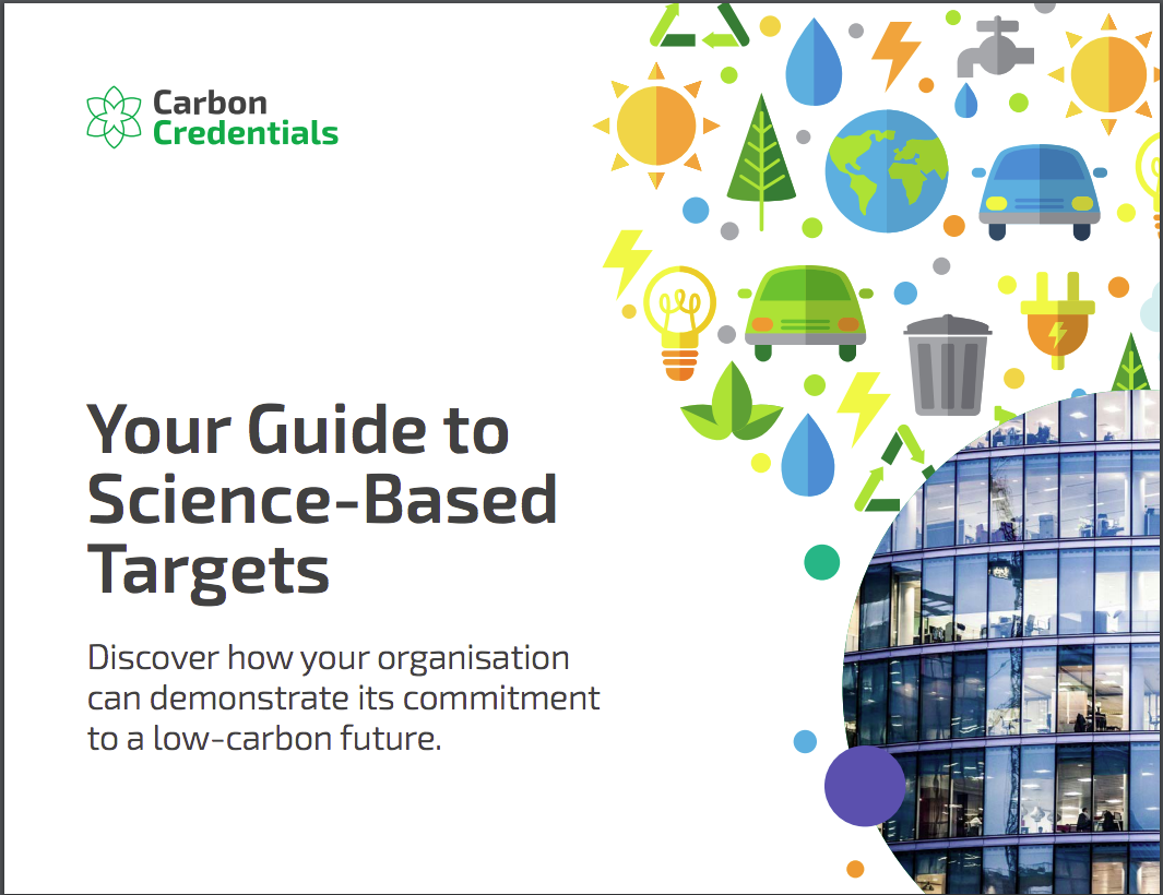 Your guide to science-based targets